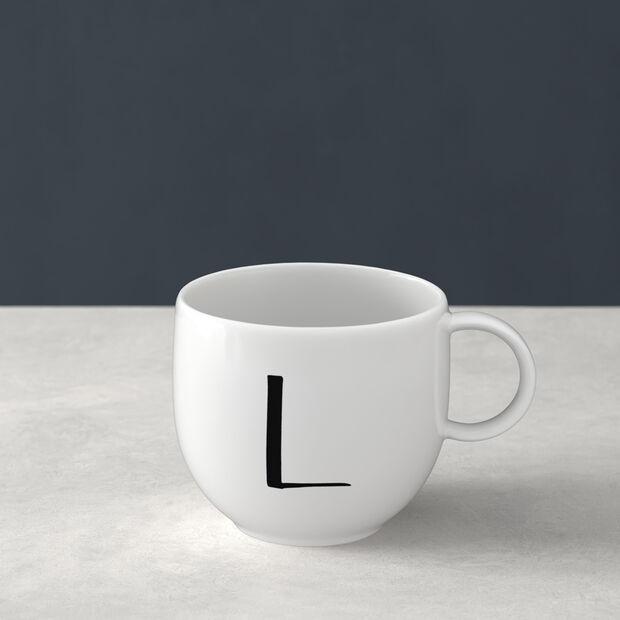 Letters Kubek L 13x10x8cm, , large
