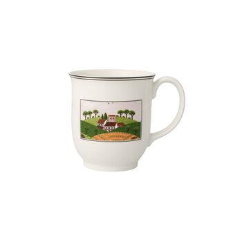 Charm & Breakfast Design Naif kubek do kawy z uchem