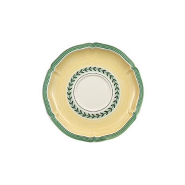 French Garden Fleurence Spodek do filiżanki śniadaniowej 17cm, , large