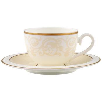 Ivoire Filiżanka do kawy/herbaty ze spod.2 szt.