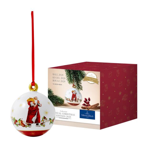 Annual Christmas Edition bombka 2020, 6,5 x 6,5 x 8 cm, , large