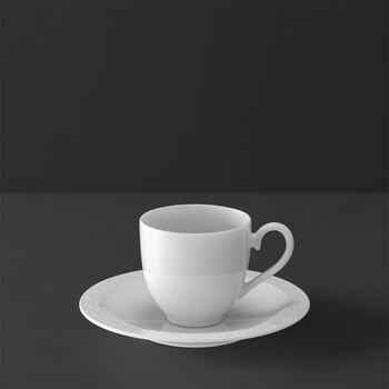 White Pearl Filiżanka do espresso ze spod. 2 szt.