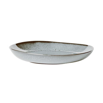 Lave Glacé płaska miska, turkusowa, 28 x 27 x 4,3 cm