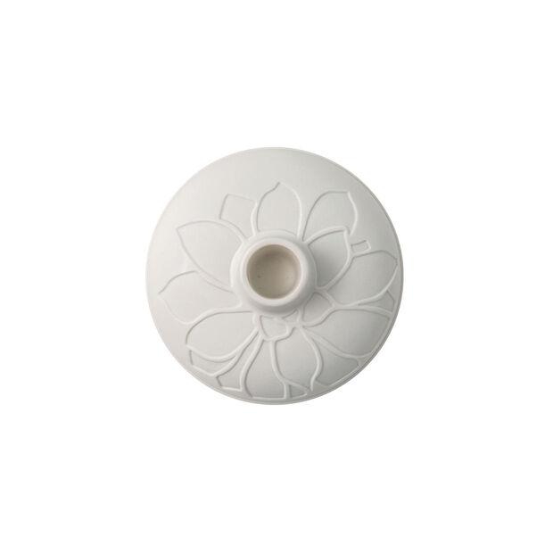it's my home świecznik Socculent, 12x7 cm, biały, , large