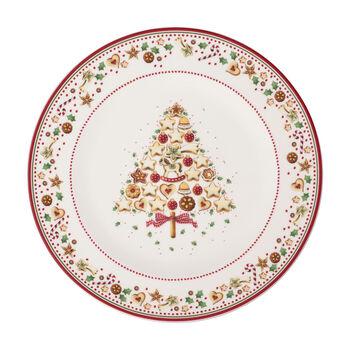 Winter Bakery Delight podtalerz, czerwony/kolorowy