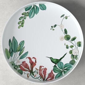 Avarua Gifts miska do serwowania/dekoracji, 33cm, biała/wielokolorowa