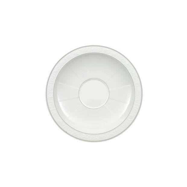 Gray Pearl spodek do filiżanki do cappuccino, , large