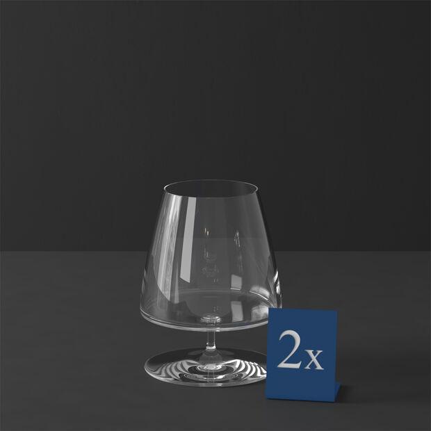 MetroChic kieliszek do brandy, 2 szt., 620 ml, , large