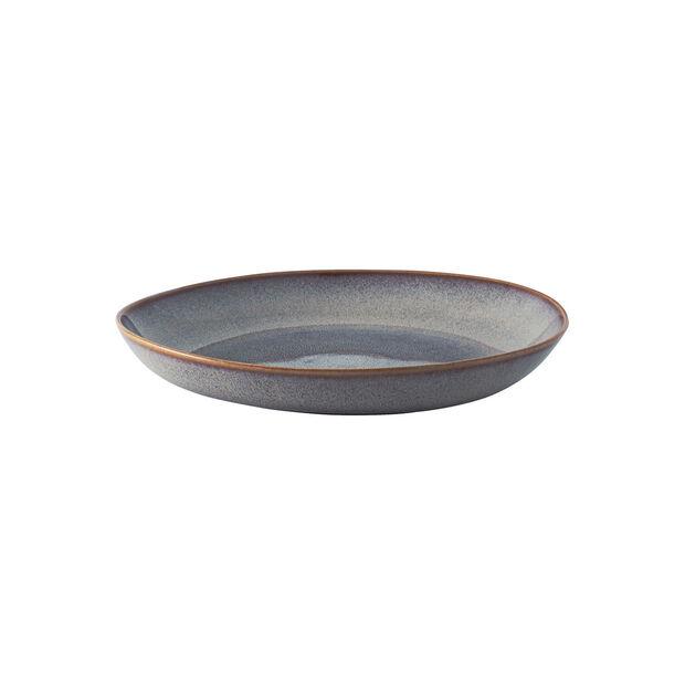 Lave Beige płaska miska, beżowa, 28 x 27 x 4,3 cm, , large