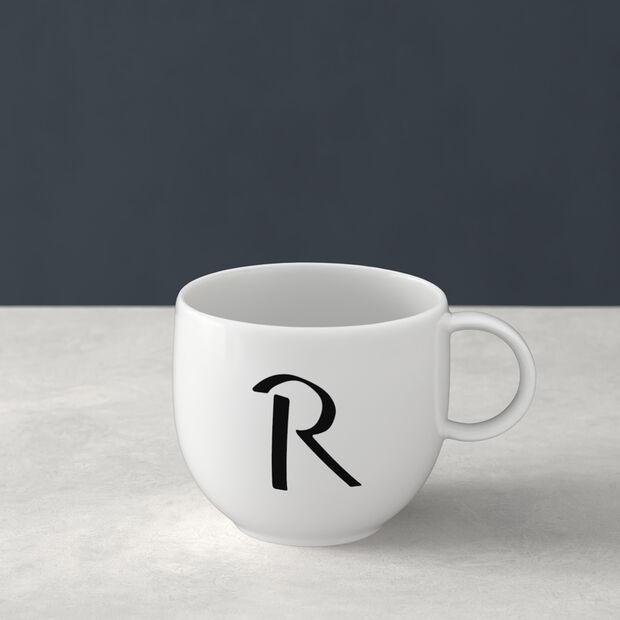 Letters Kubek R 13x10x8cm, , large