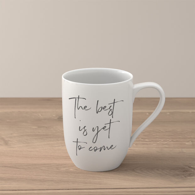 """Statement kubek """"The best is yet to come"""", , large"""