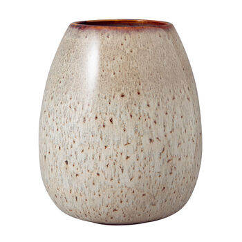 Lave Home wazon Egg Shape, 14,5x14,5x17,5 cm, Beige