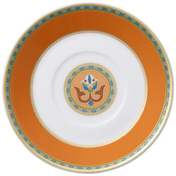 Samarkand Mandarin spodek do filiżanki do espresso