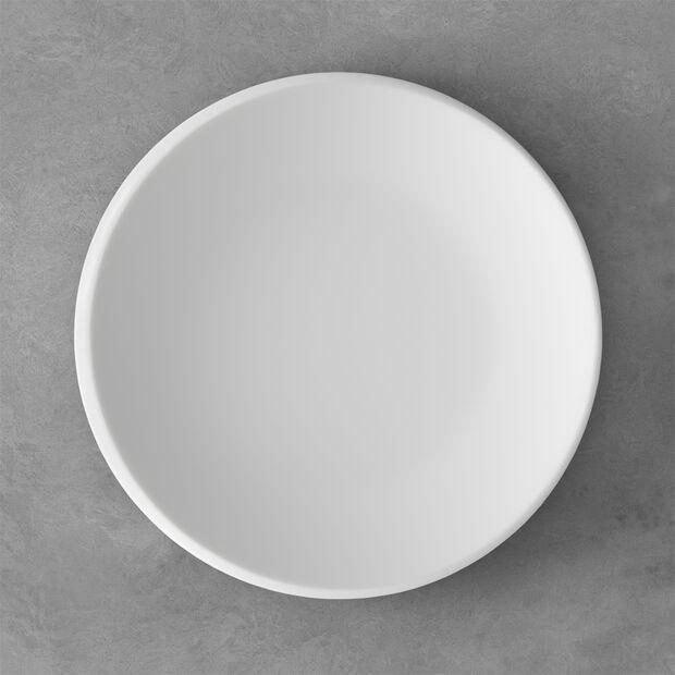 NewMoon talerz płaski, 27 cm, biały, , large
