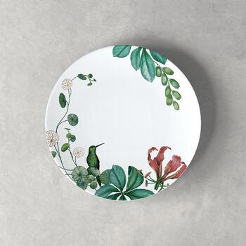 Avarua talerz deserowy/śniadaniowy, 22cm, biały/wielokolorowy