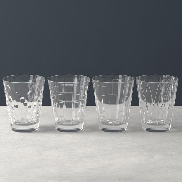 Dressed Up zestaw szklanek do wody Clear 4 el., , large
