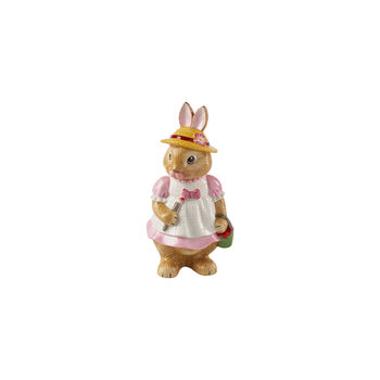 Bunny Tales duża figurka Anna, 10,5 x 11 x 22 cm, różowy/brązowy