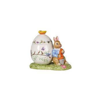 Bunny Tales Pojemnik pisanka, Max z marchewką 11x6,5x9,5cm