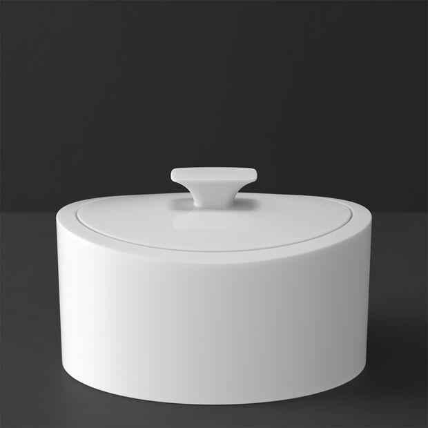 MetroChic blanc Gifts Pojemnik porcelanowy 16x13x10cm, , large