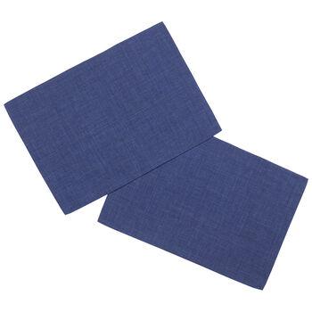 Textil Uni TREND podkładka ciemno niebieska zestaw 2-częściowy 35x50cm