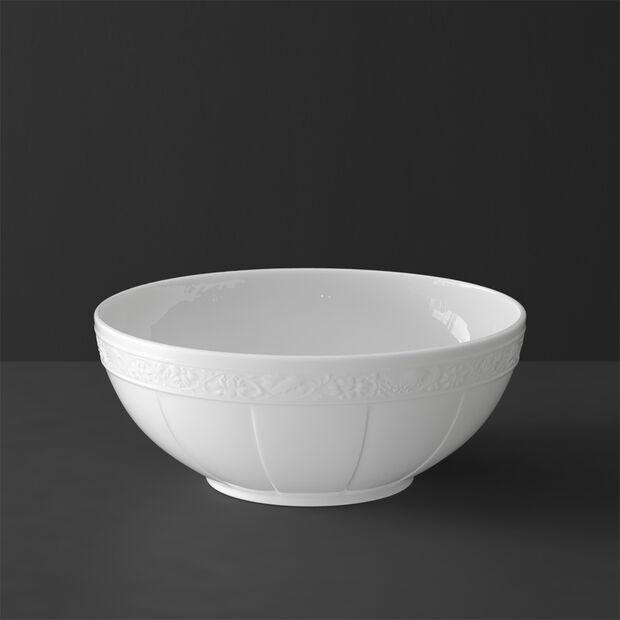 White Pearl miska okrągła duża, , large