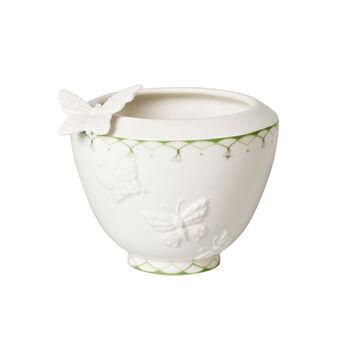 Colourful Spring mały wazon, biały/zielony