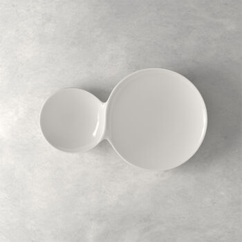 Flow two-in-one serving plate 39 x 25 cm