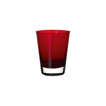 Colour Concept szklanka do wody/koktajli Red