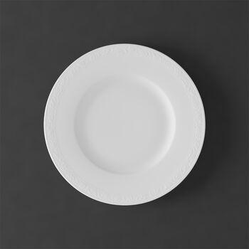 White Pearl talerz śniadaniowy