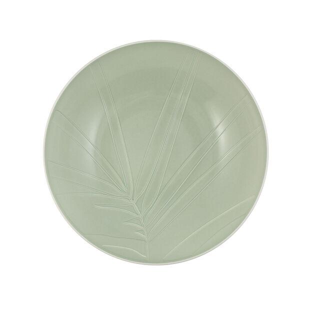 it's my match miska do serwowania Leaf, 26x6,5 cm, mineralna zieleń, , large