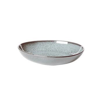 Lave Glacé mała płaska miska, turkusowa, 22 x 21 x 4,2 cm