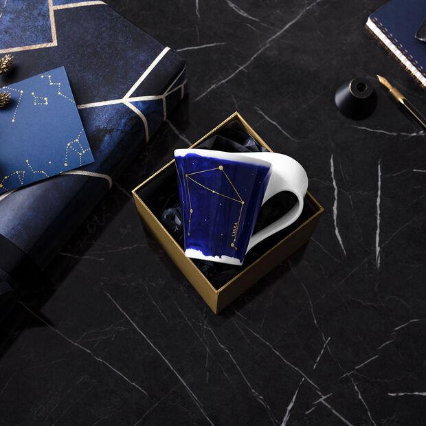 NewWave Stars kubek Waga, 300 ml, niebieski/biały, , large