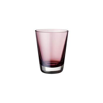 Colour Concept szklanka do wody / long drinków / koktajli burgundy 108mm