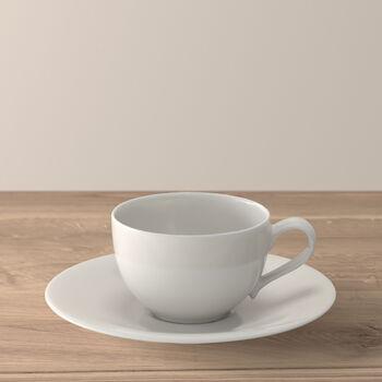New Cottage Basic Filiżanka do kawy ze spodkiem 2 szt.