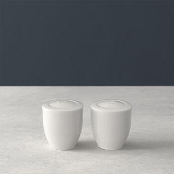 For Me solniczka i pieprzniczka, biała, zestaw 2-częściowy