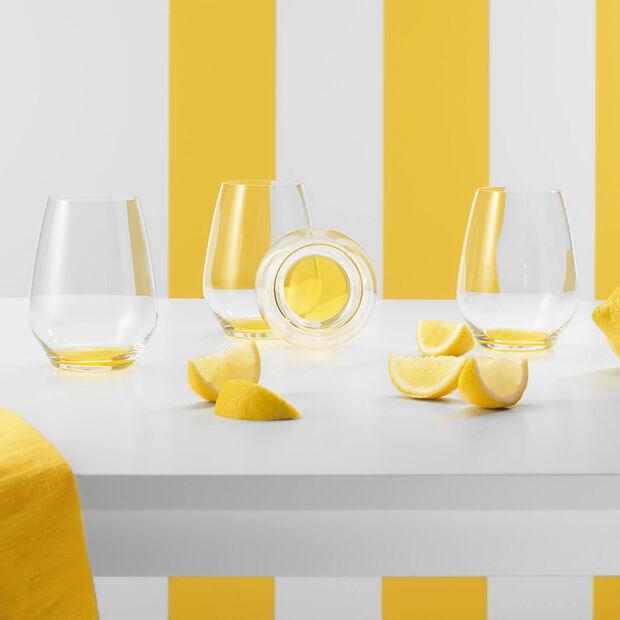 Colourful Life Lemon Pie zestaw szklanek do koktajli/wody 4-częściowy, , large