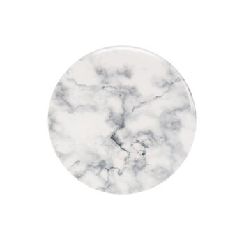 Marmory talerz śniadaniowy White, 21x21x1,5cm