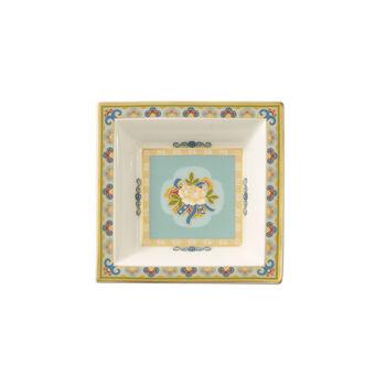 Samarkand Aquamarin miseczka kwadratowa 10x10cm