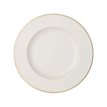 Anmut Gold talerz płytki, średnica 27 cm, biały/złoty