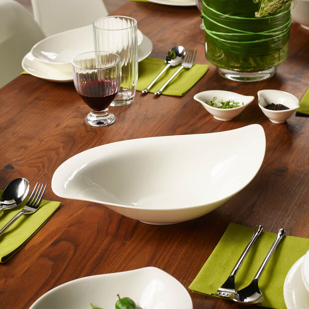 New Cottage Special Serve Salad miska do sałatek 36x24cm, , large