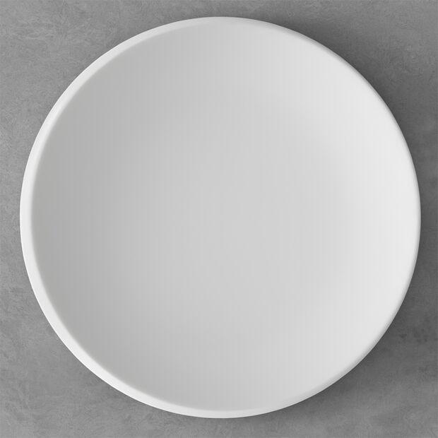 NewMoon talerz prezentacyjny, 32 cm, biały, , large