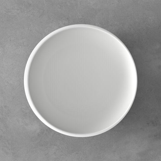 NewMoon średnia miska, 2,2 l, biała, , large