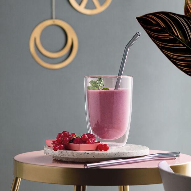 Artesano Hot&Cold Beverages Szklana słomka zestaw 5 szt., , large