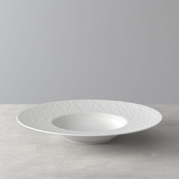 Manufacture Rock blanc Talerz do pasty 28x28x5cm, , large