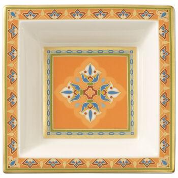 Samarkand Mandarin miseczka kwadratowa 10x10cm