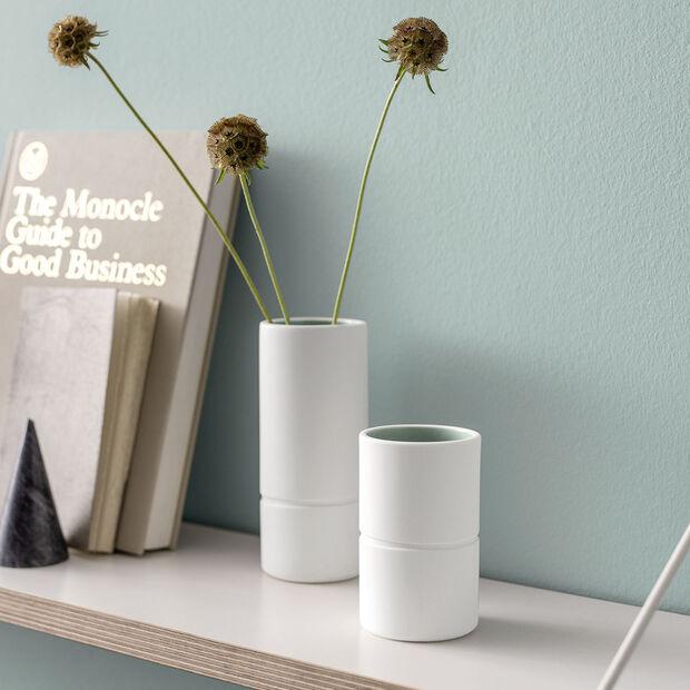 it's my home mały wazon, 6x10 cm, zielony/biały, , large
