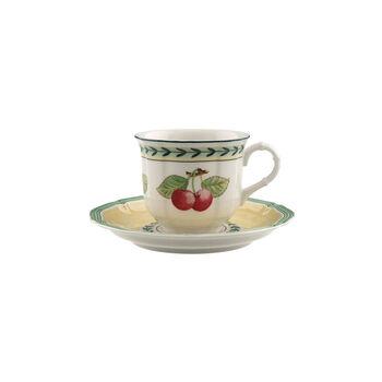 French Garden Fleurence filiżanka do kawy ze spodkiem zestaw 2-częściowy