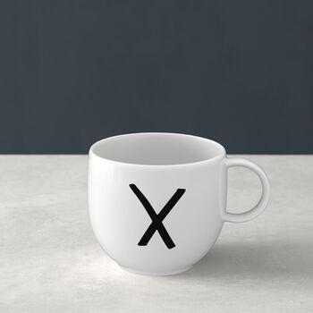 Letters Kubek X 13x10x8cm