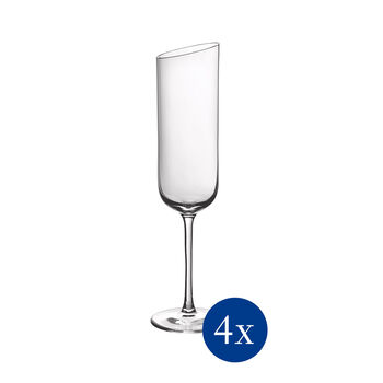NewMoon zestaw kieliszków do szampana, 170 ml, 4-częściowy