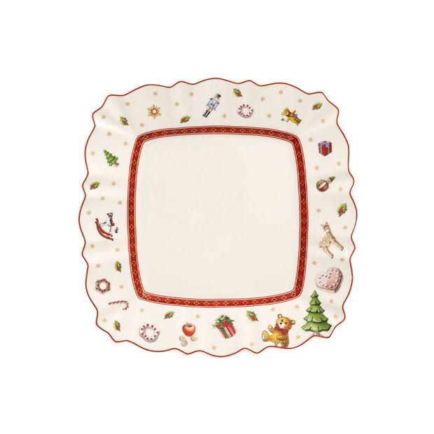Toy's Delight czworokątny talerz śniadaniowy, , large